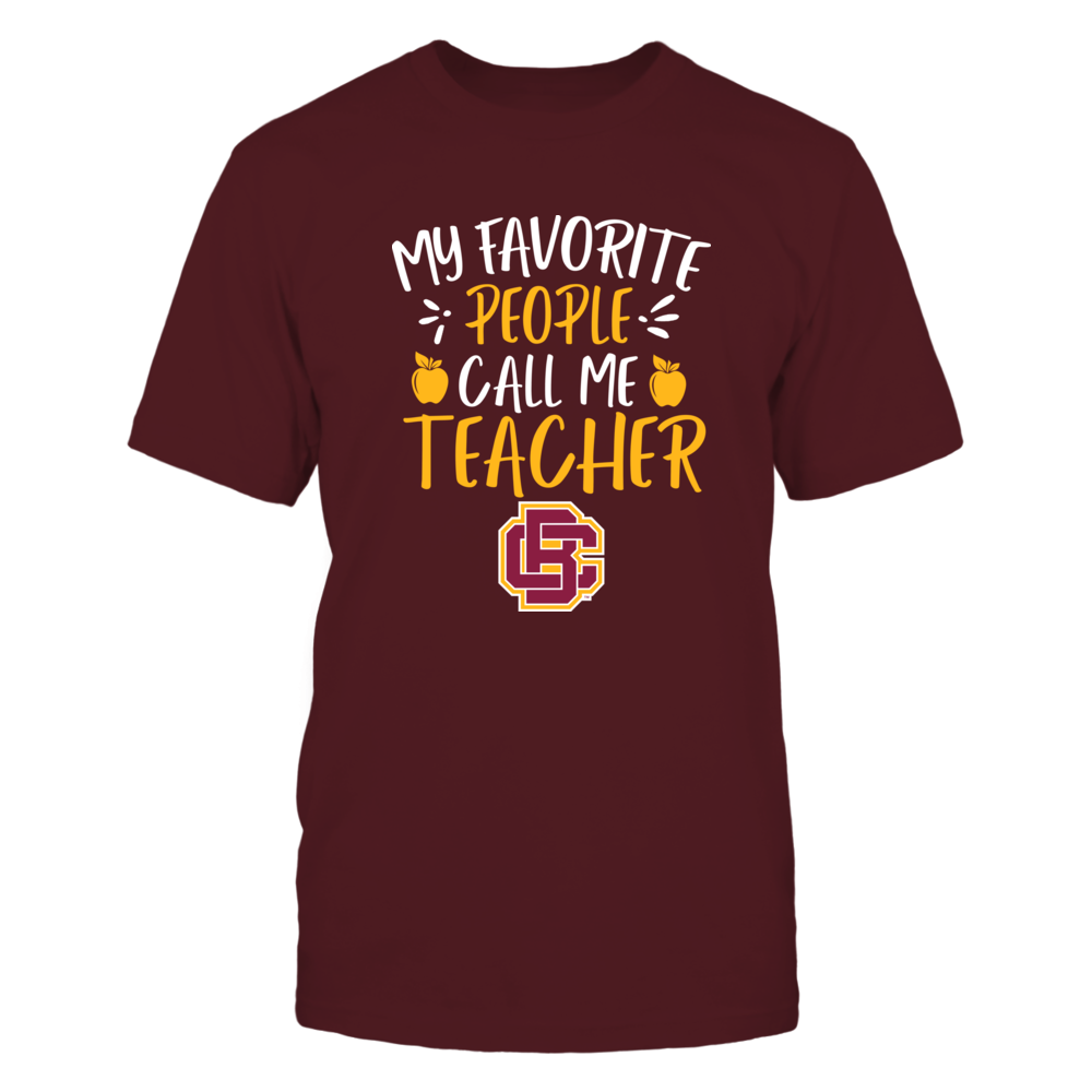 Bethune-Cookman Wildcats - My Favorite People Call Me Teacher - Team Front picture