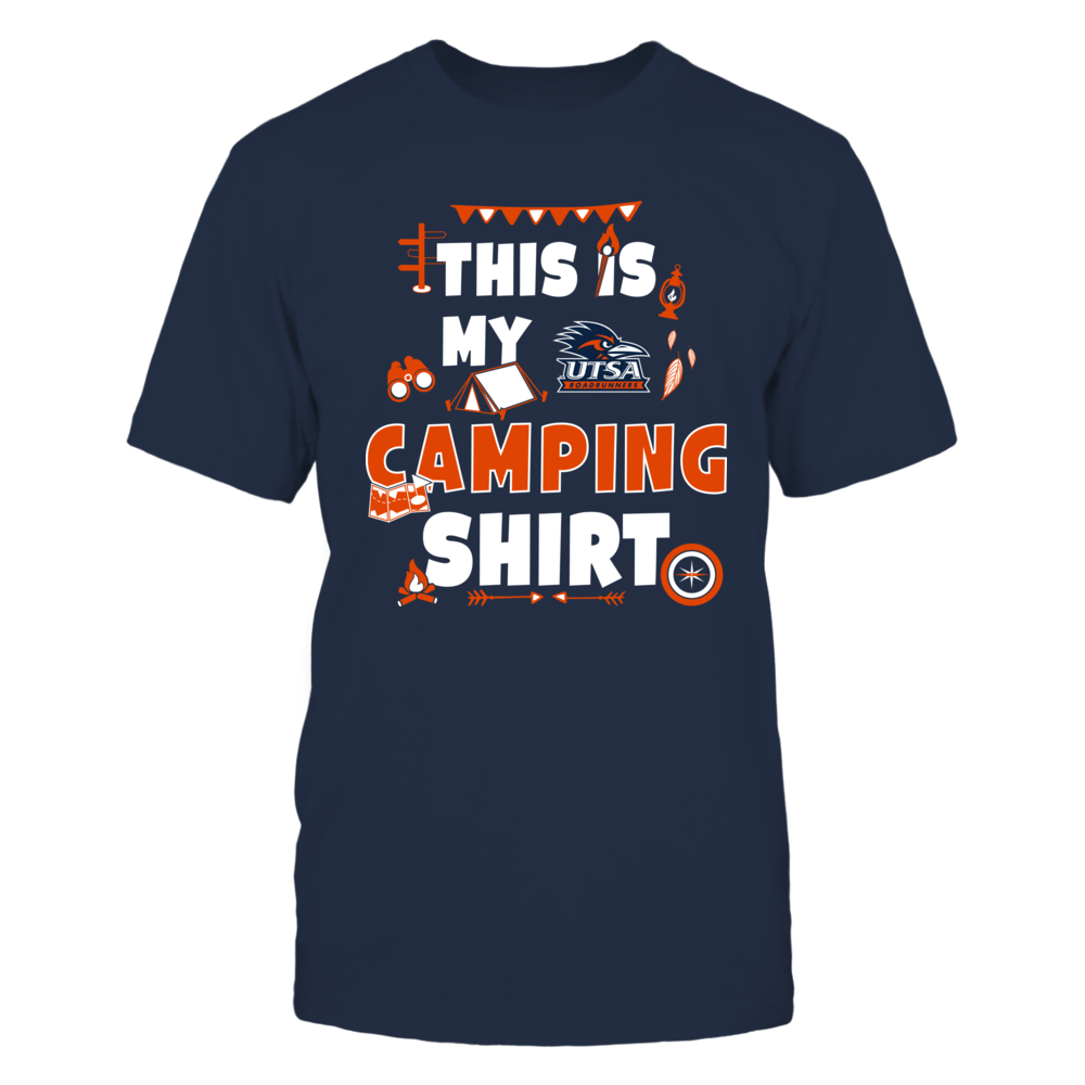 UTSA Roadrunners - My Camping Shirt - Team Front picture
