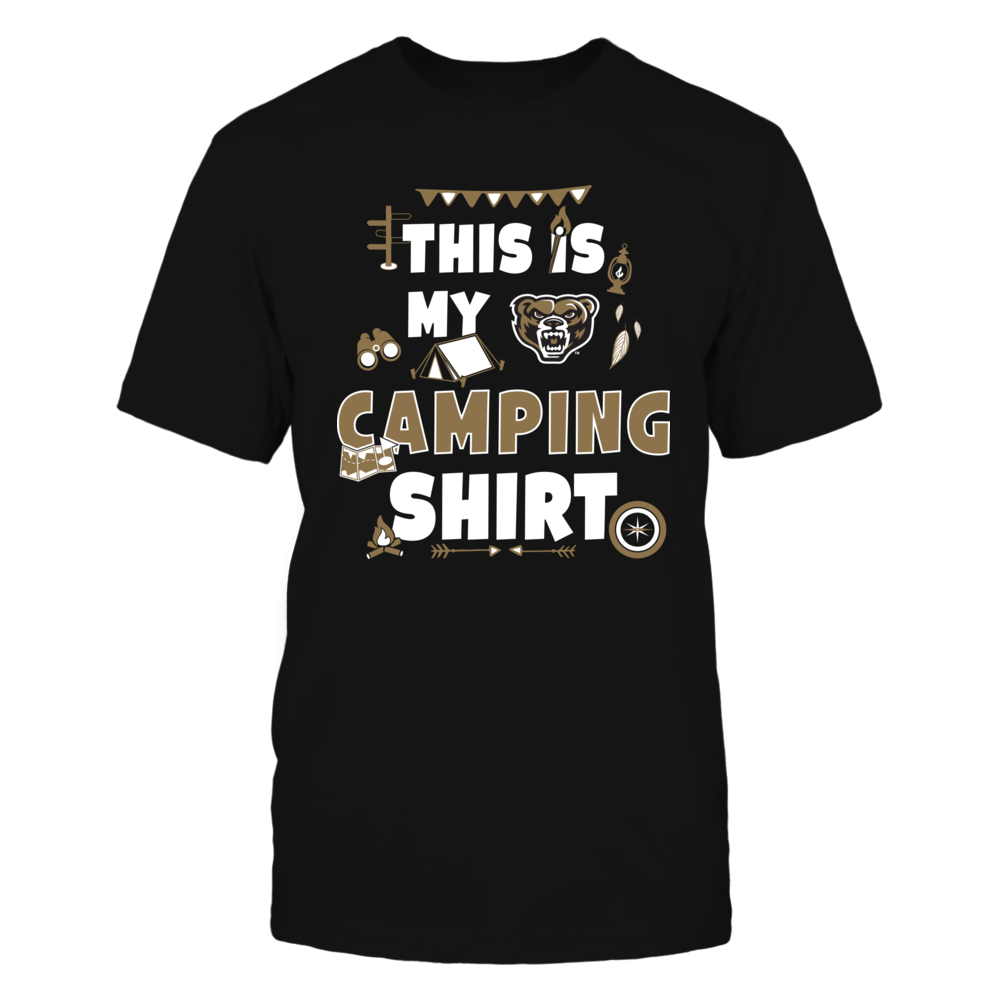 Oakland Golden Grizzlies - My Camping Shirt - Team Front picture