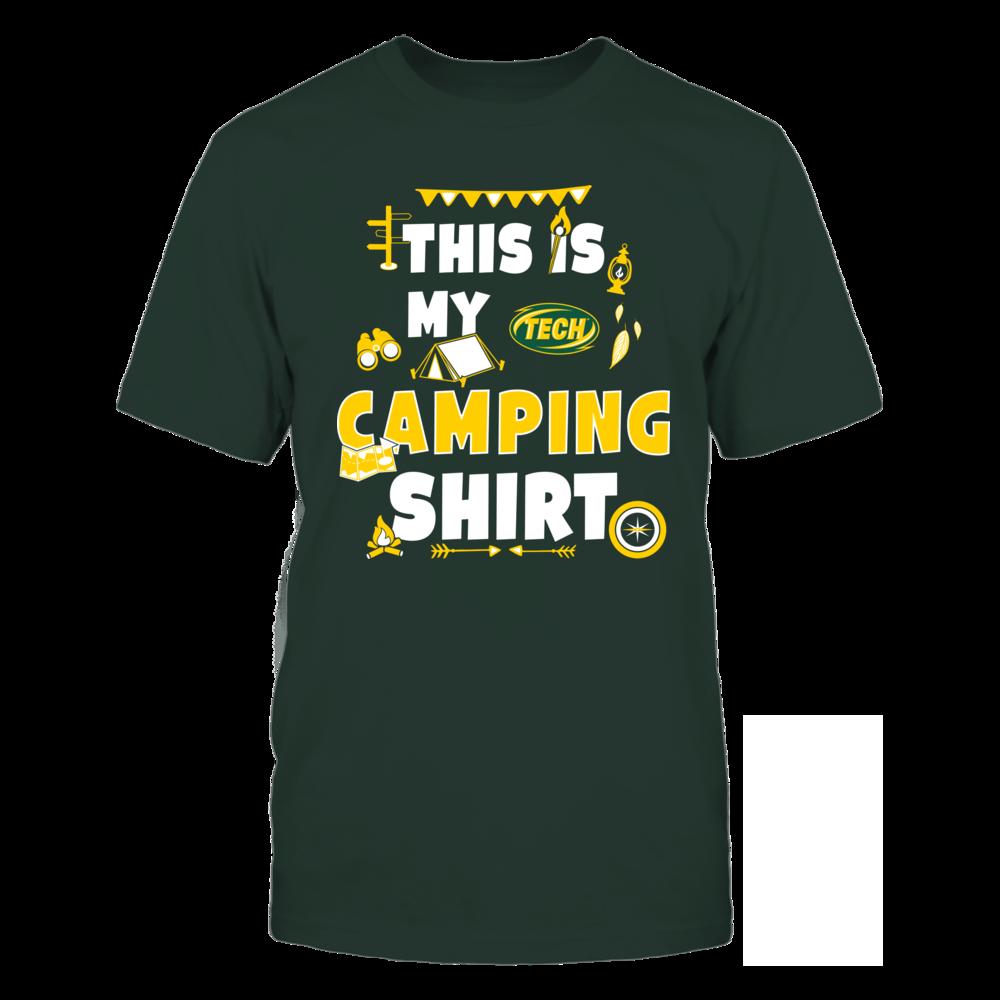 Arkansas Tech Golden Suns - My Camping Shirt - Team Front picture