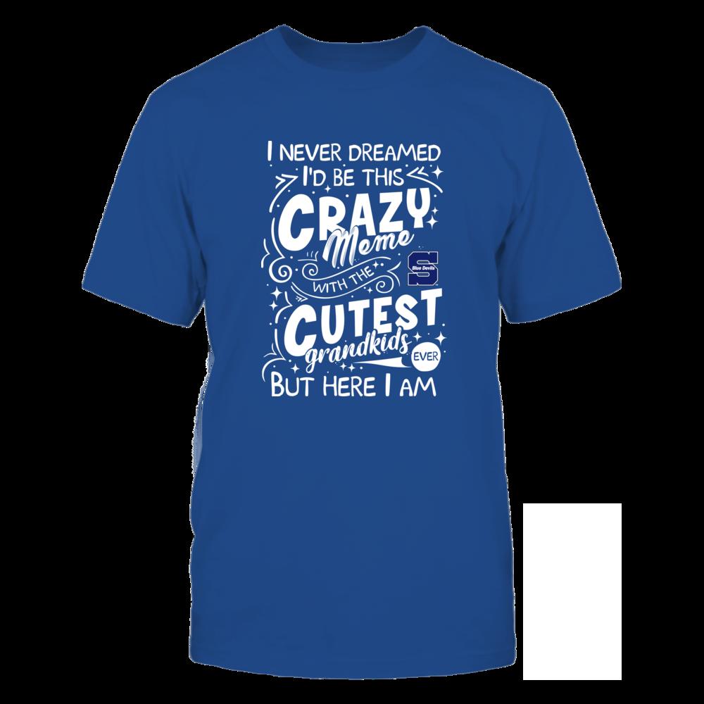 Wisconsin Stout Blue Devils - Never Dreamed - Crazy Meme Front picture