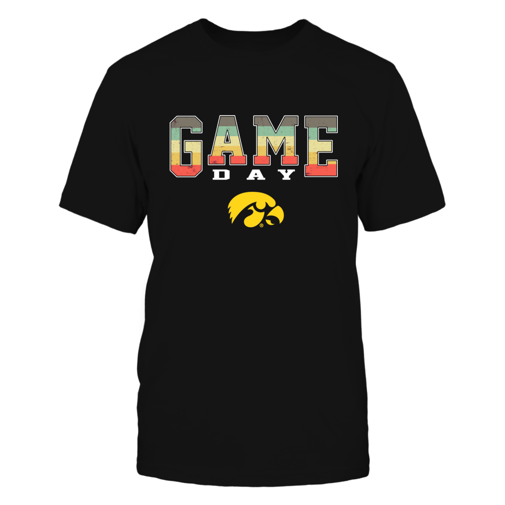 Iowa Hawkeyes - Game Day Vintage Graphic - IF17-IC17-DS64 Front picture