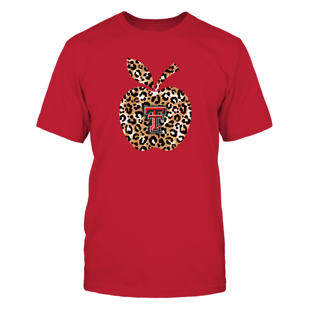Texas Tech Red Raiders - Teacher - Leopard Apple - IF-IC17-DS75 Front picture