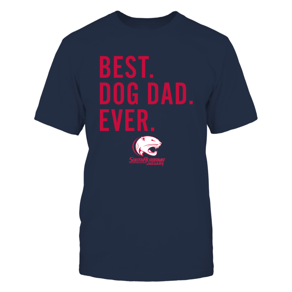 South Alabama Jaguars - Best Dog Dad - Team Front picture