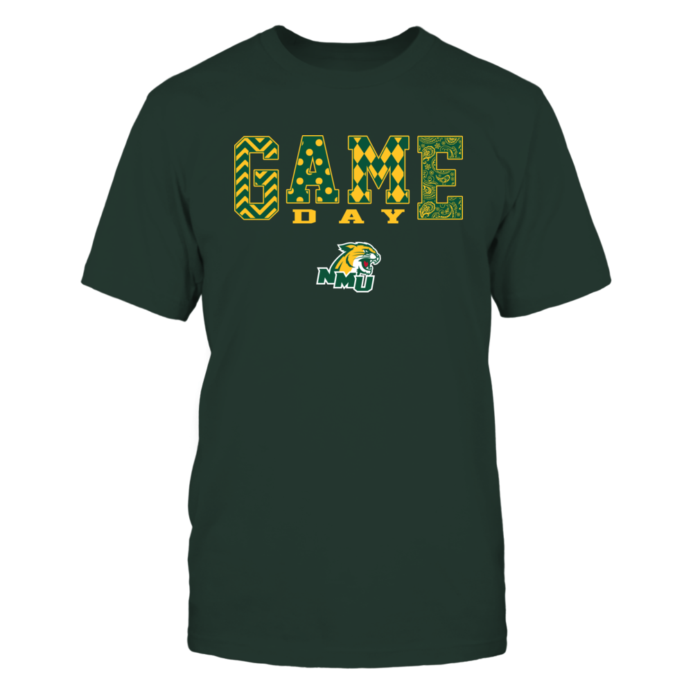 Northern Michigan Wildcats - Game Day Pattern Front picture