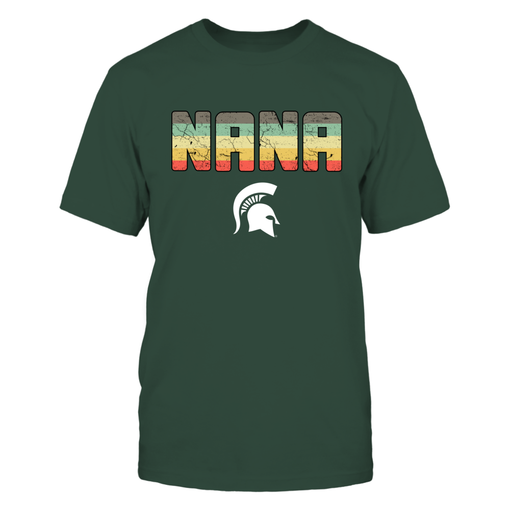 Michigan State Spartans - Nana Vintage Graphic - IF17-IC17-DS64 Front picture