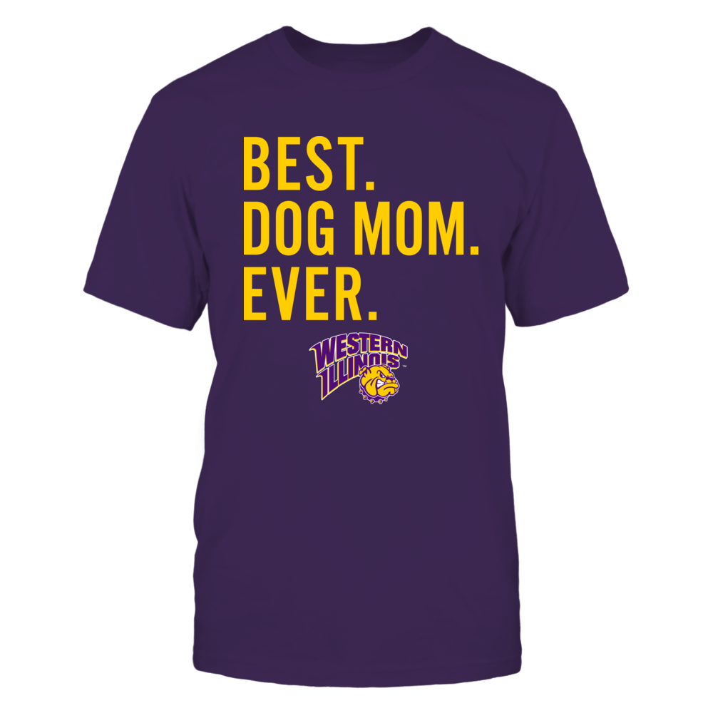 Western Illinois Leathernecks - Best Dog Mom - Team Front picture