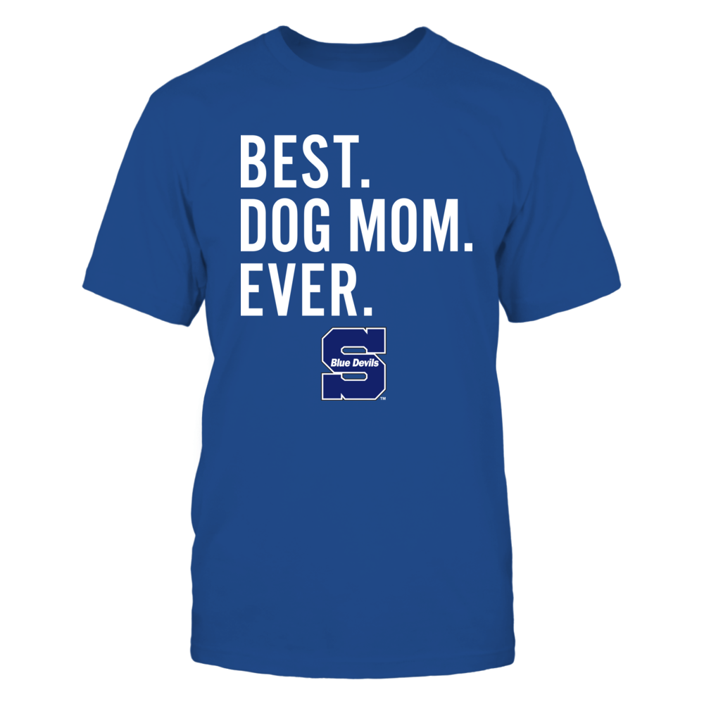 Wisconsin Stout Blue Devils - Best Dog Mom - Team Front picture