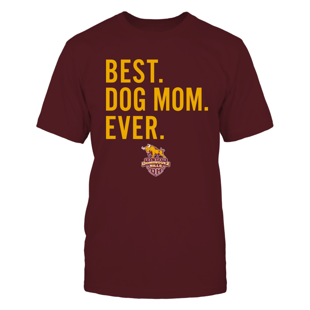 Cal State Dominguez Hills Toros - Best Dog Mom - Team Front picture