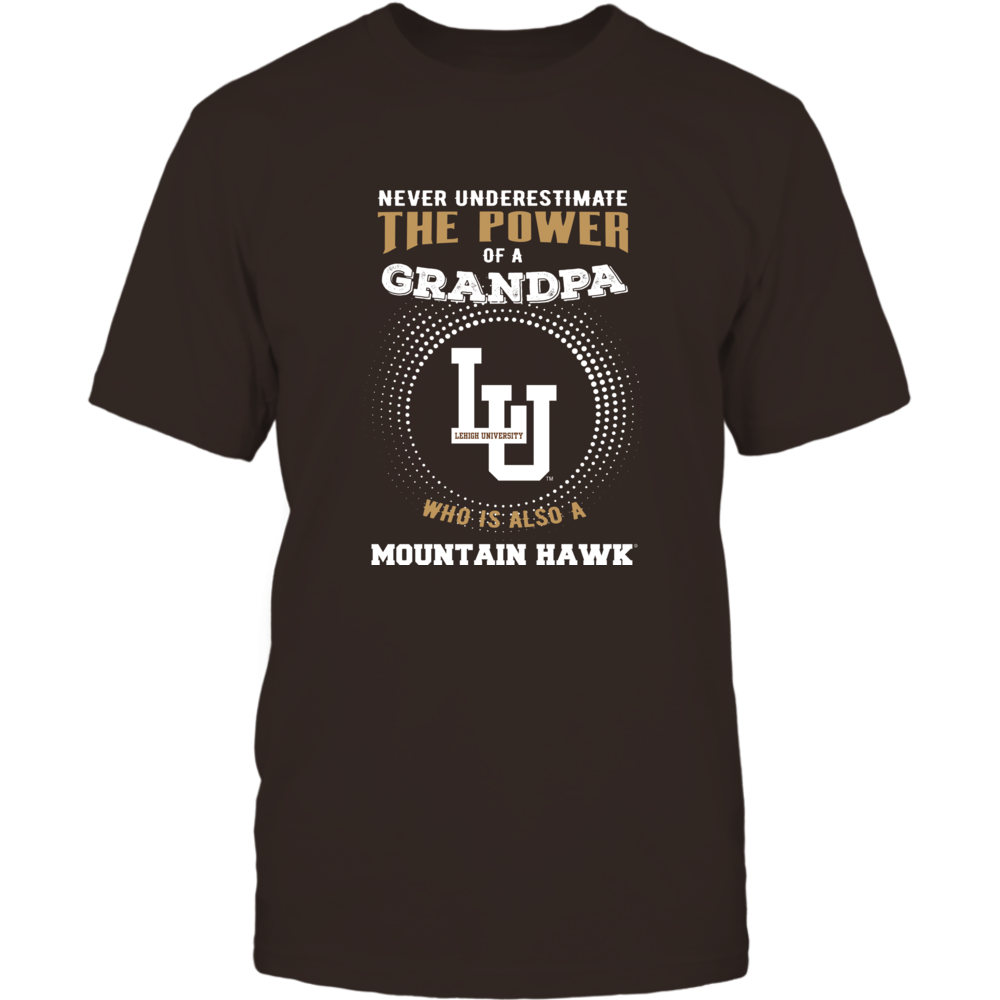 Lehigh Mountain Hawks - Never Underestimate - Power of Grandpa Front picture