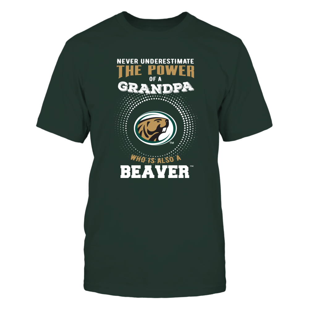 Bemidji State Beavers - Never Underestimate - Power of Grandpa Front picture
