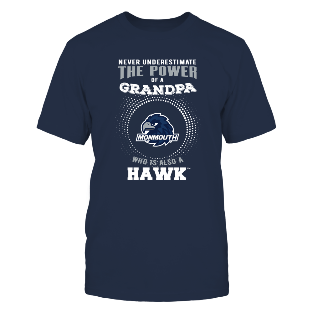 Monmouth Hawks - Never Underestimate - Power of Grandpa Front picture