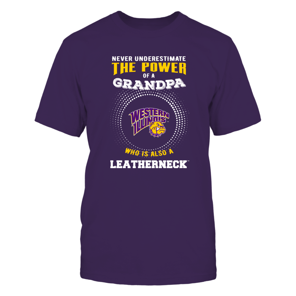 Western Illinois Leathernecks - Never Underestimate - Power of Grandpa Front picture