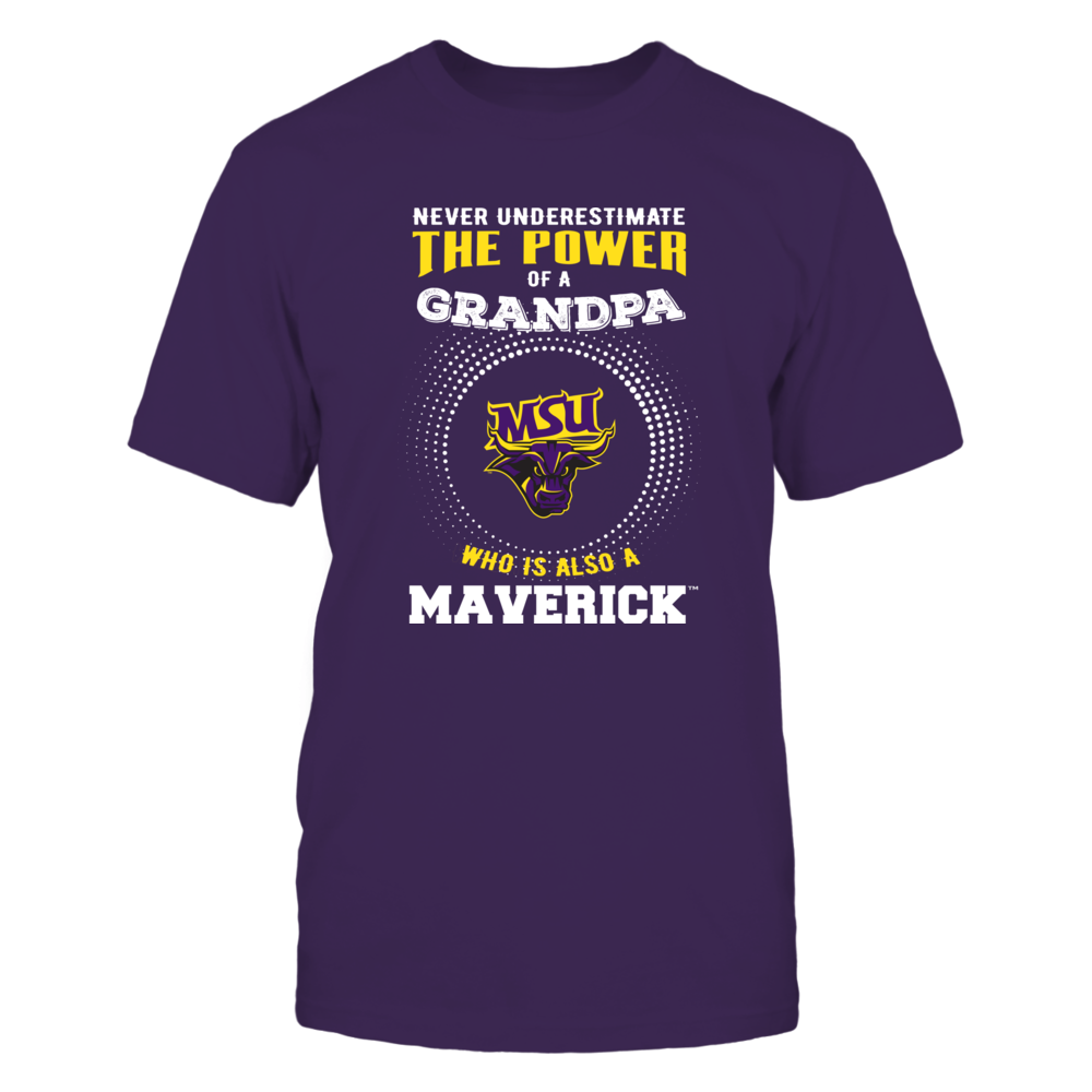 Minnesota State Mavericks - Never Underestimate - Power of Grandpa Front picture