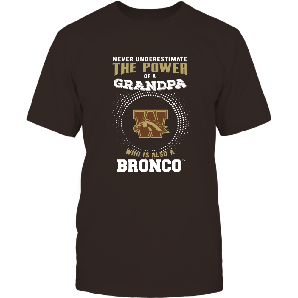 Western Michigan Broncos - Never Underestimate - Power of Grandpa Front picture