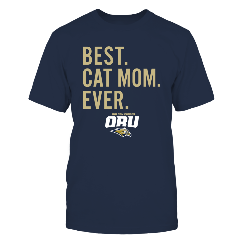 Oral Roberts Golden Eagles - Best Cat Mom - Team Front picture