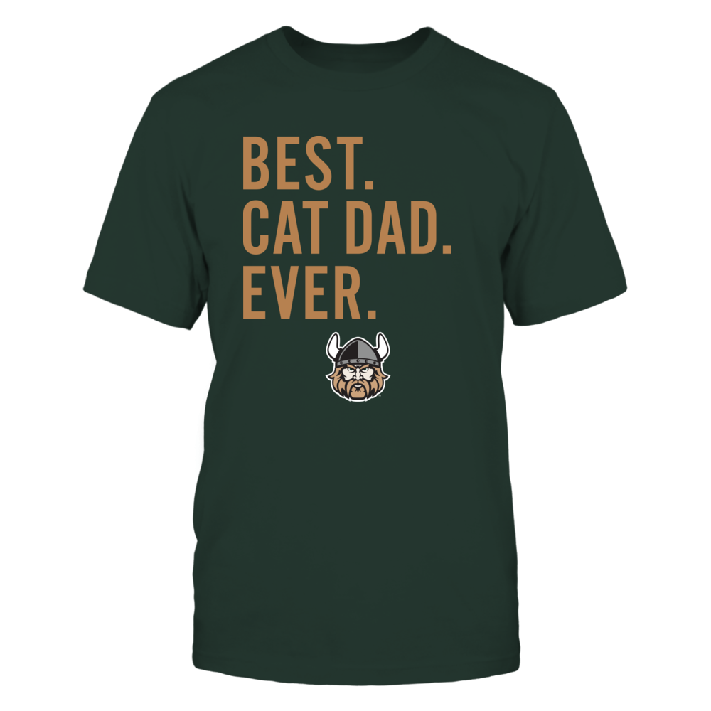 Cleveland State Vikings - Best Cat Dad - Team Front picture