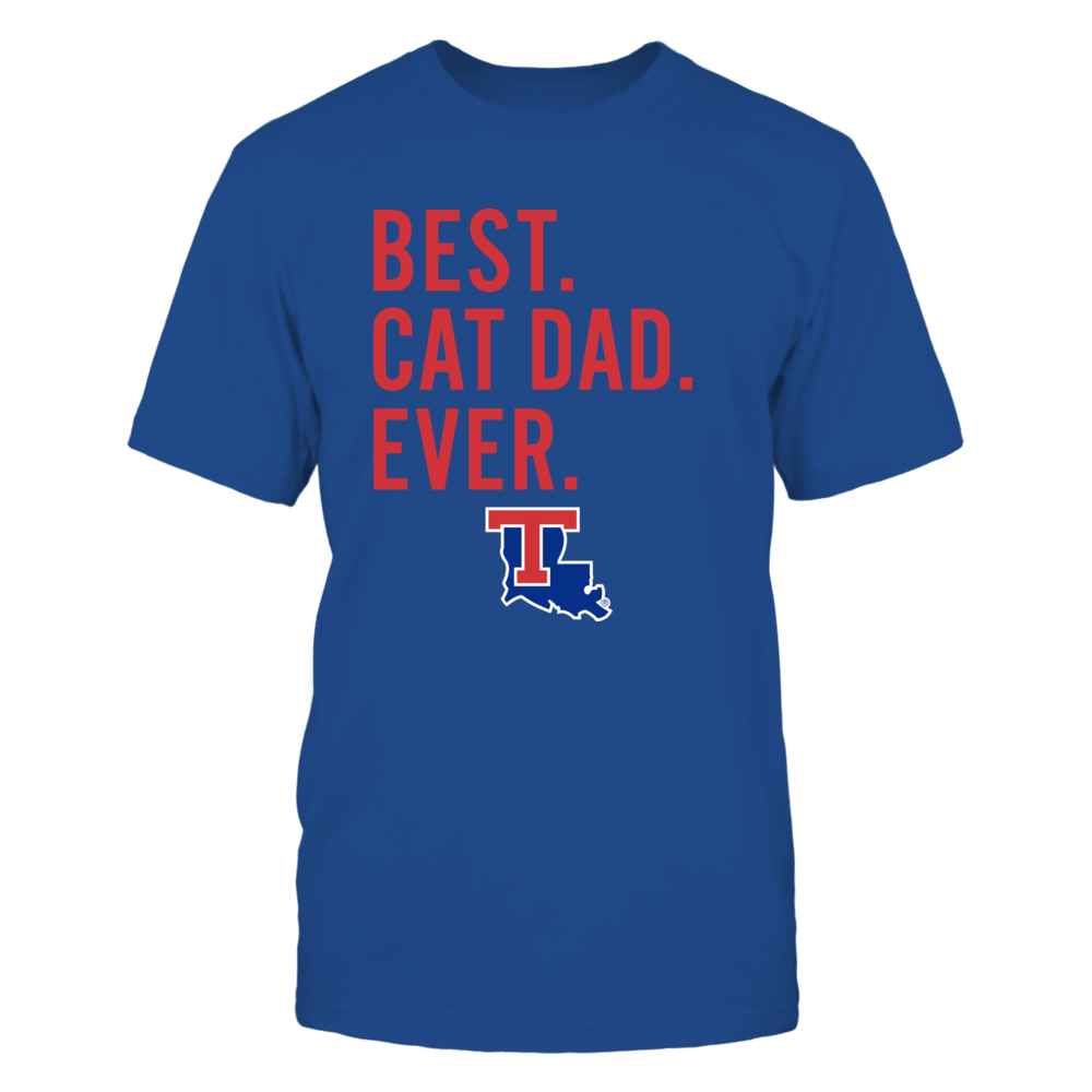 Louisiana Tech Bulldogs - Best Cat Dad - Team Front picture