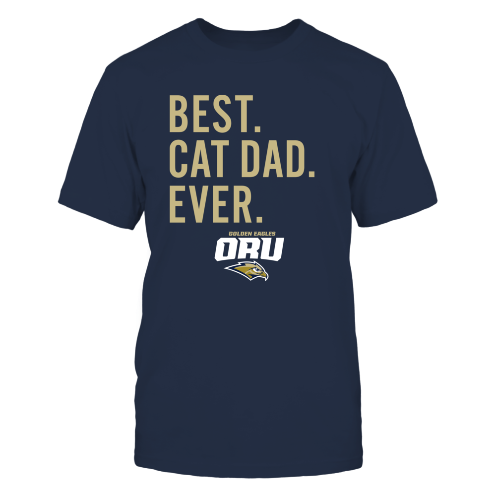 Oral Roberts Golden Eagles - Best Cat Dad - Team Front picture