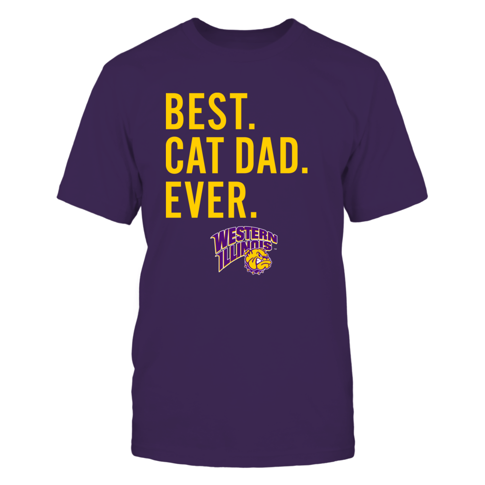 Western Illinois Leathernecks - Best Cat Dad - Team Front picture
