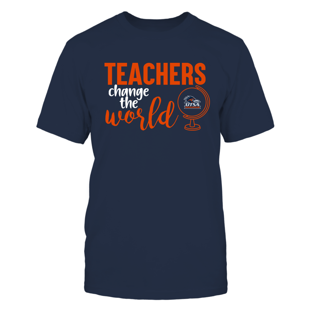 UTSA Roadrunners - Teachers Change the World Front picture