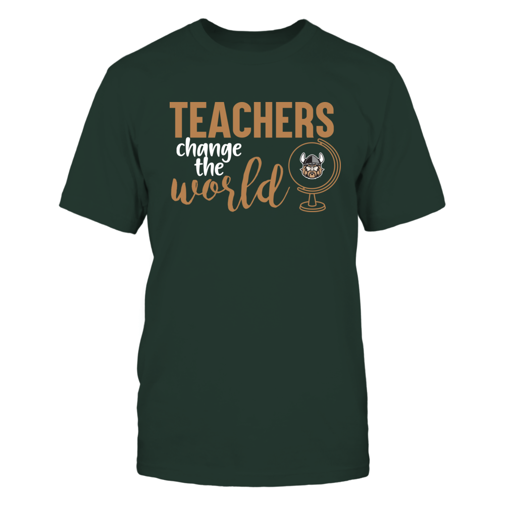 Cleveland State Vikings - Teachers Change the World Front picture