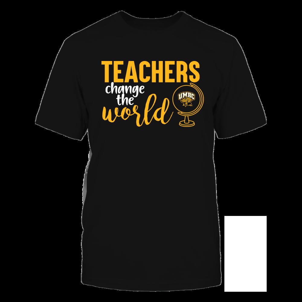 UMBC Retrievers - Teachers Change the World Front picture