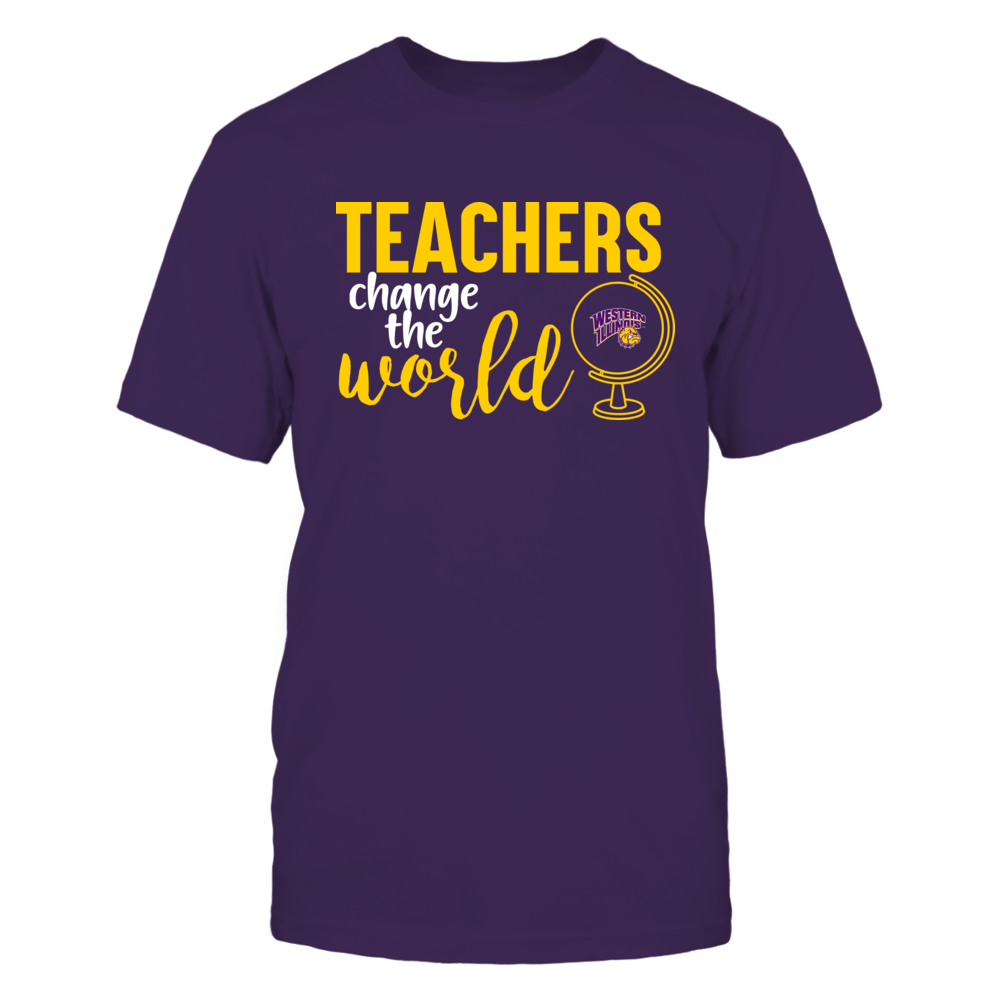Western Illinois Leathernecks - Teachers Change the World Front picture