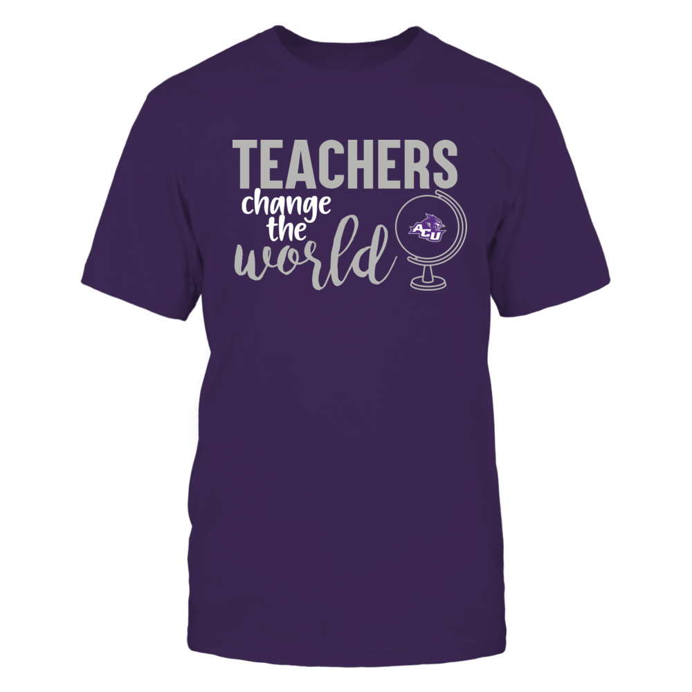 Abilene Christian Wildcats - Teachers Change the World Front picture