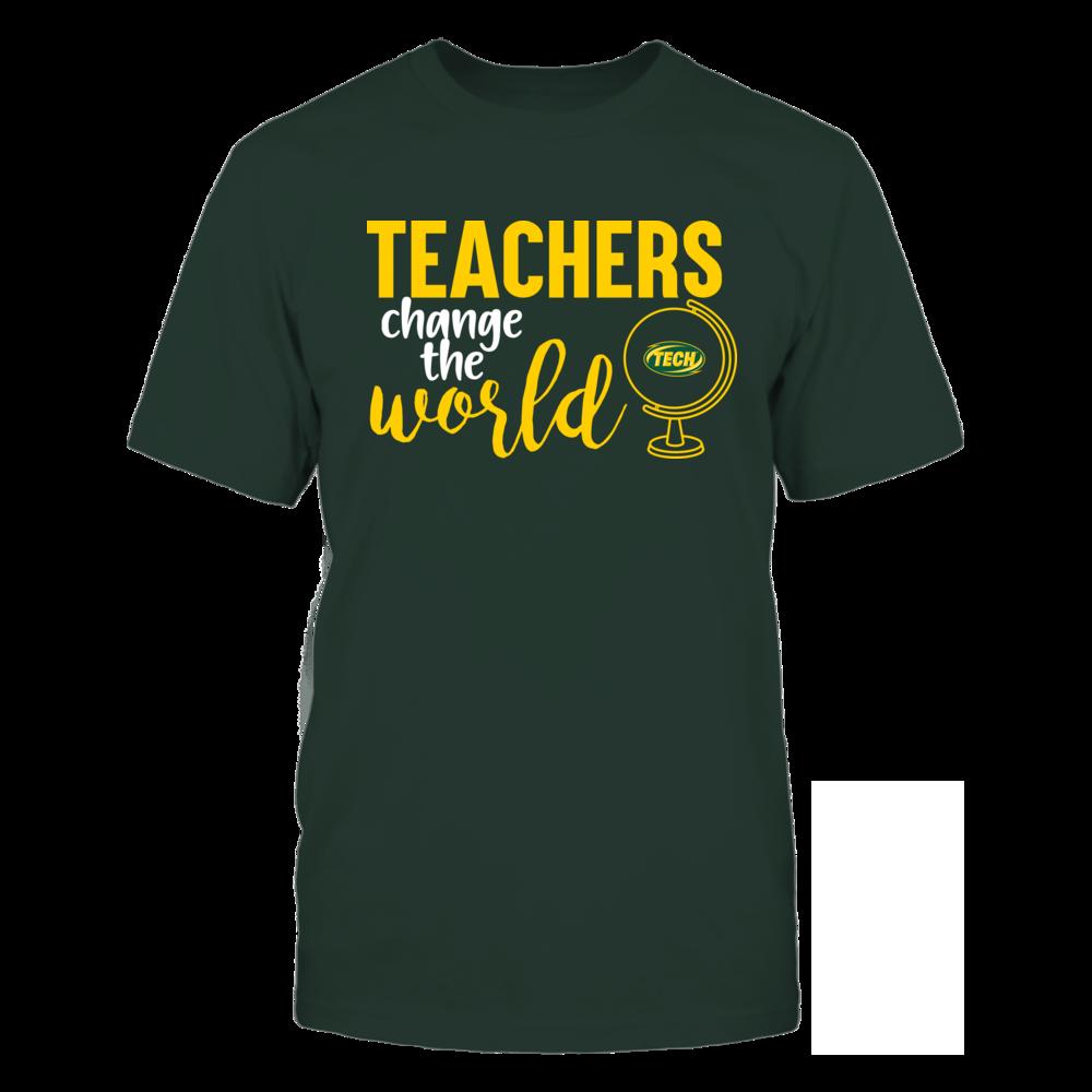 Arkansas Tech Golden Suns - Teachers Change the World Front picture