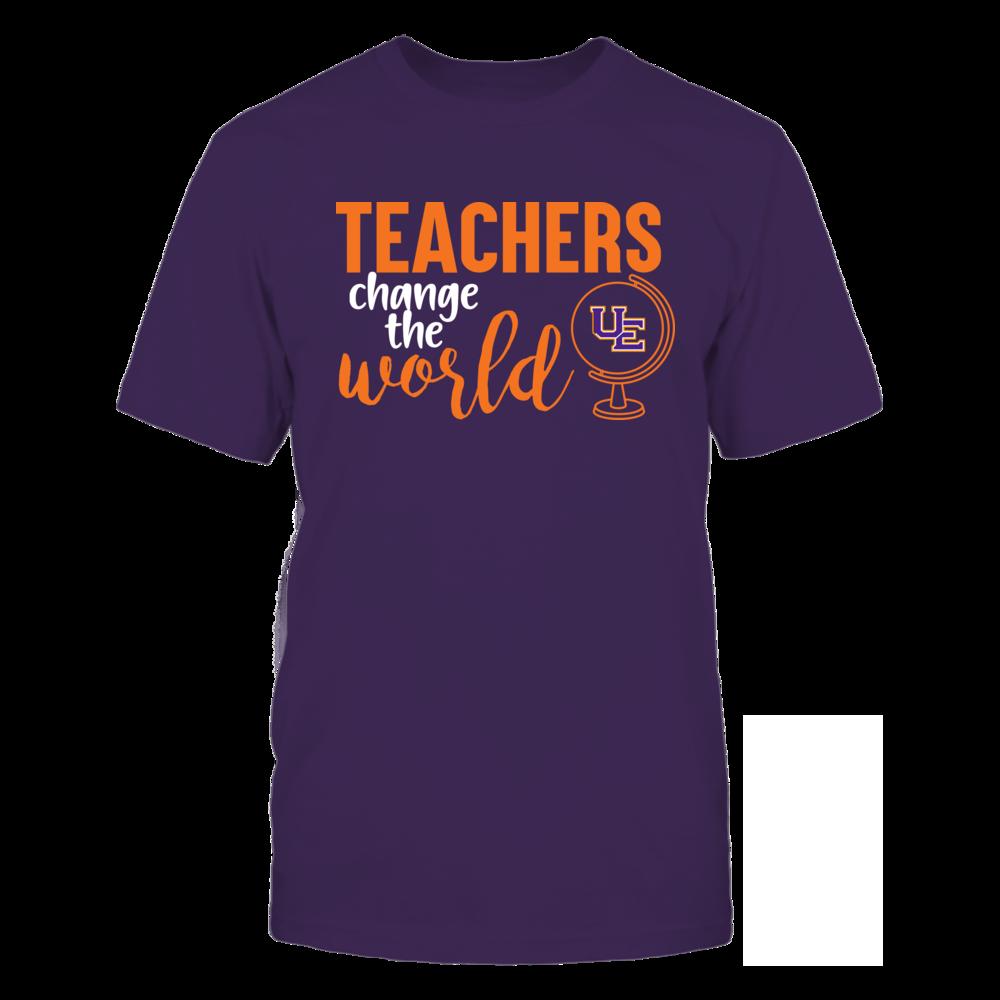 Evansville Purple Aces - Teachers Change the World Front picture