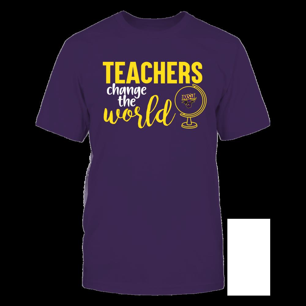 Minnesota State Mavericks - Teachers Change the World Front picture