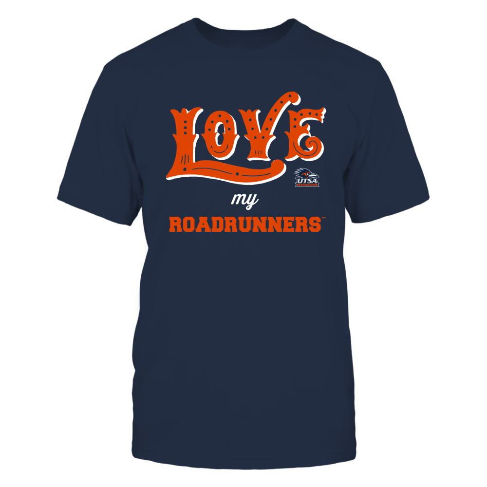 UTSA Roadrunners - Love My Team - Hand Draw - Team Front picture