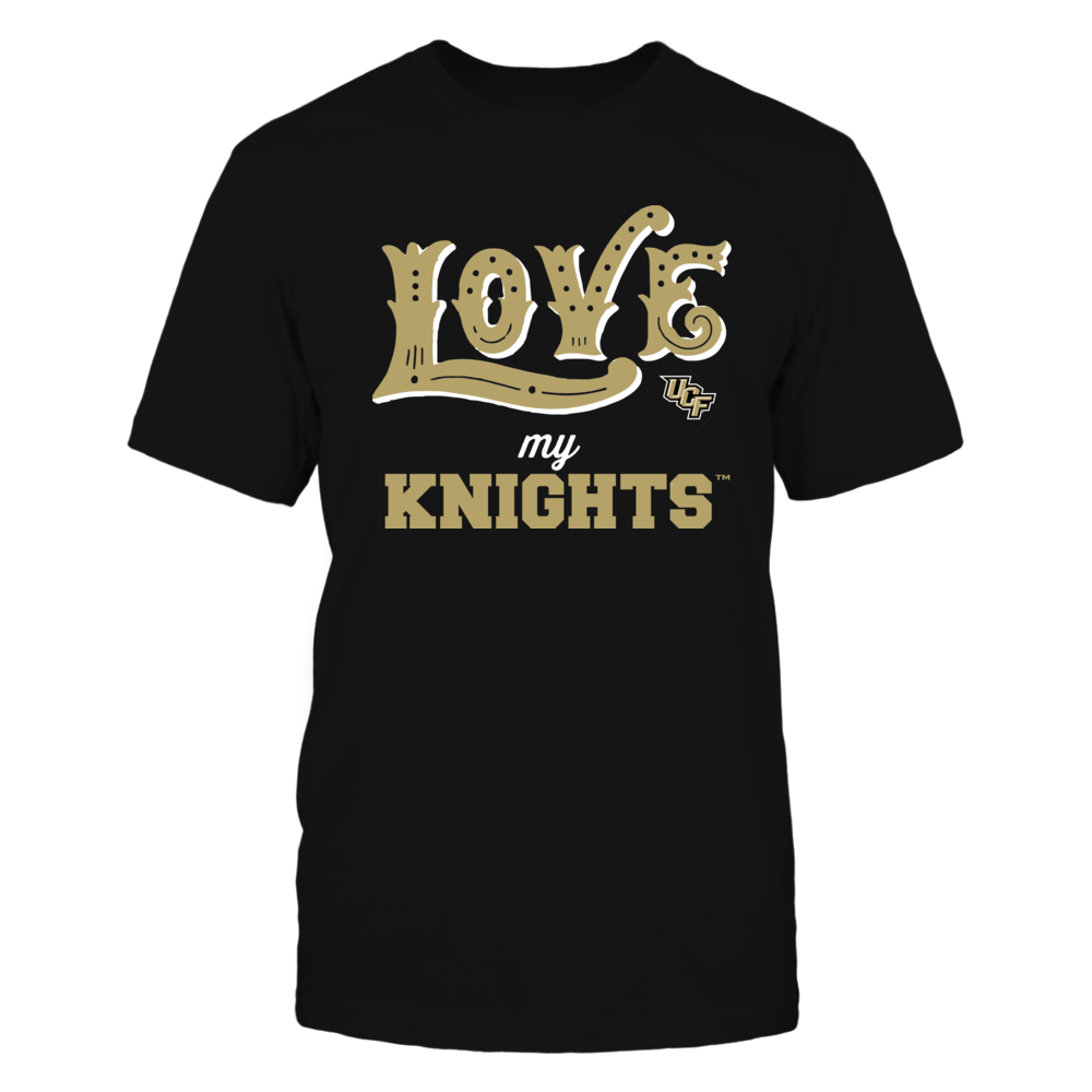 UCF Knights - Love My Team - Hand Draw - Team Front picture