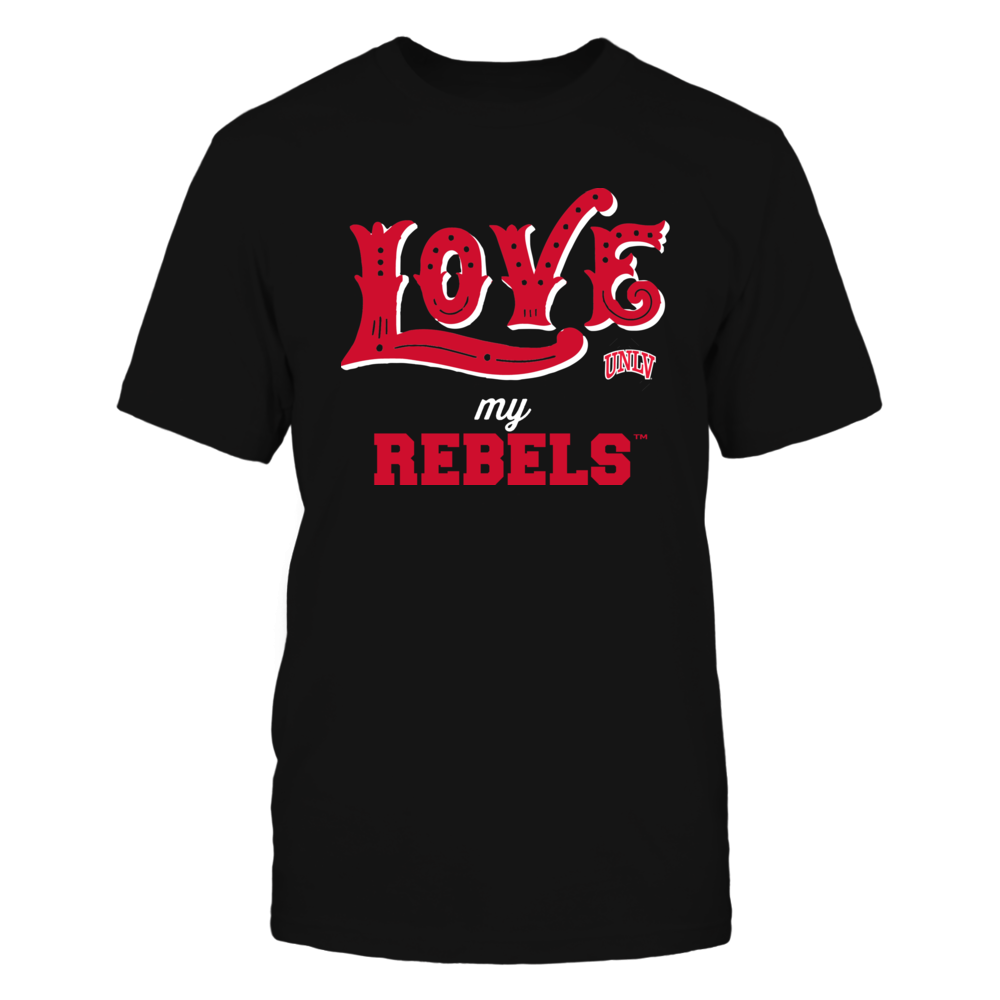 UNLV Rebels - Love My Team - Hand Draw - Team Front picture