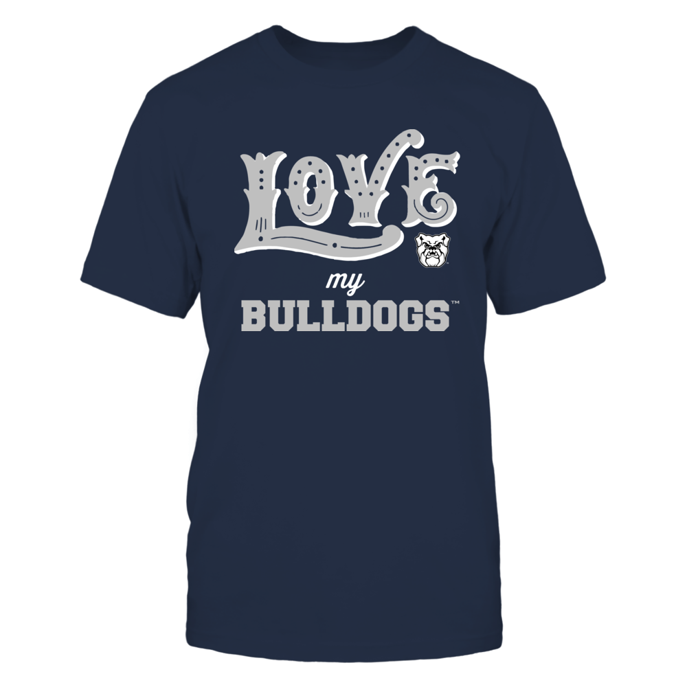 Butler Bulldogs - Love My Team - Hand Draw - Team Front picture