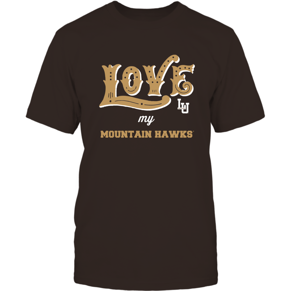 Lehigh Mountain Hawks - Love My Team - Hand Draw - Team Front picture