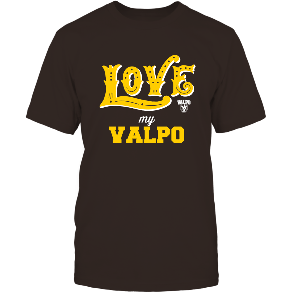 Valparaiso Crusaders - Love My Team - Hand Draw - Team Front picture