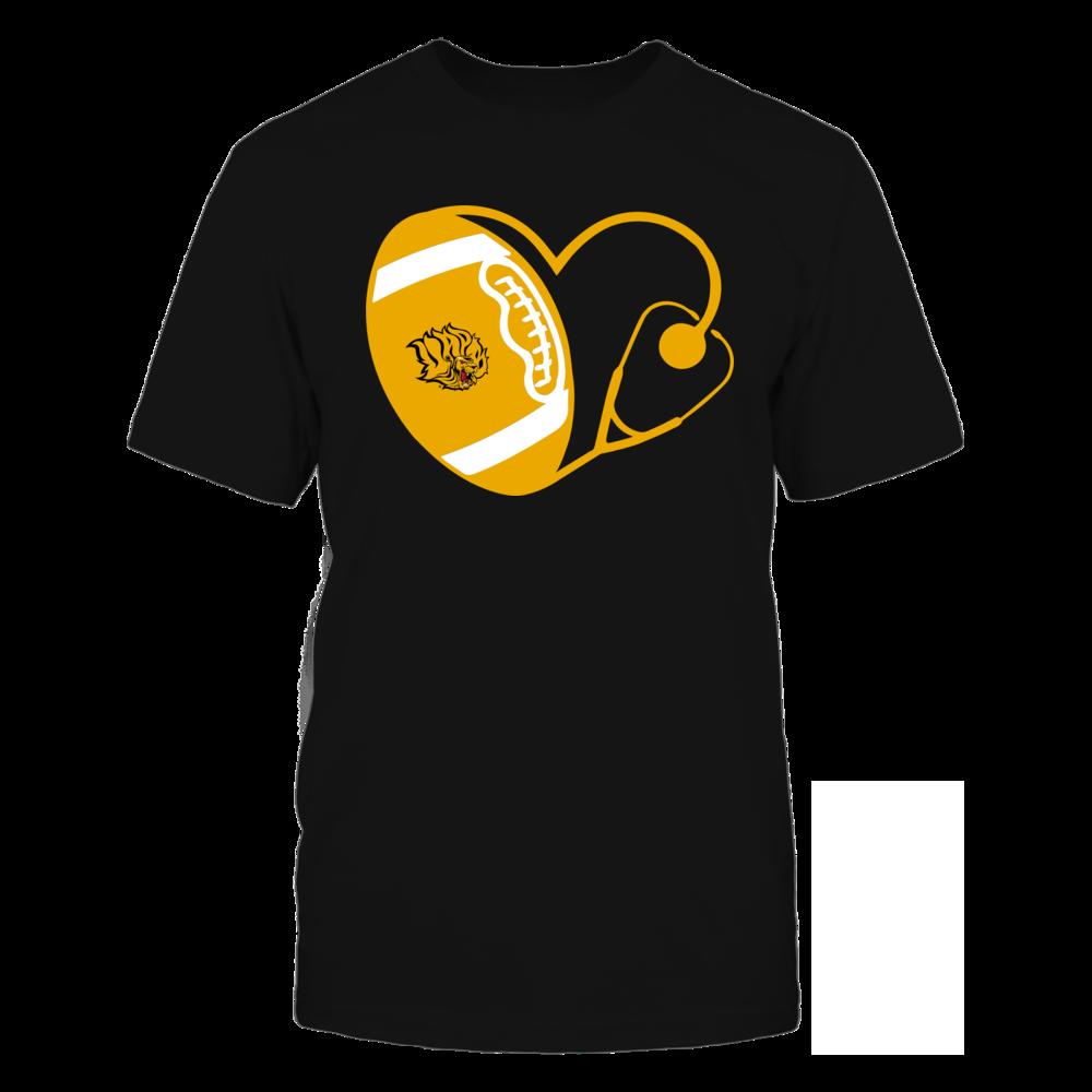 Arkansas Pine Bluff Golden Lions - Nurse - Heart of Football Front picture