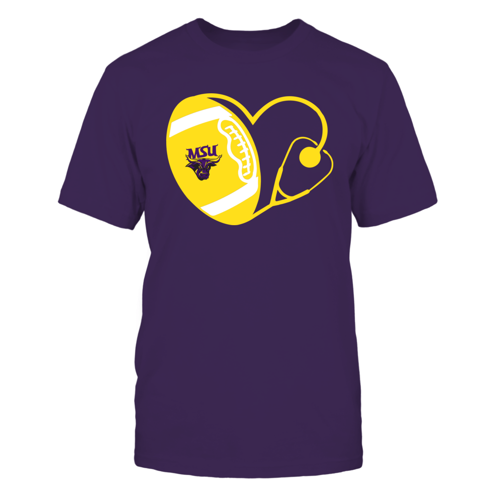 Minnesota State Mavericks - Nurse - Heart of Football Front picture