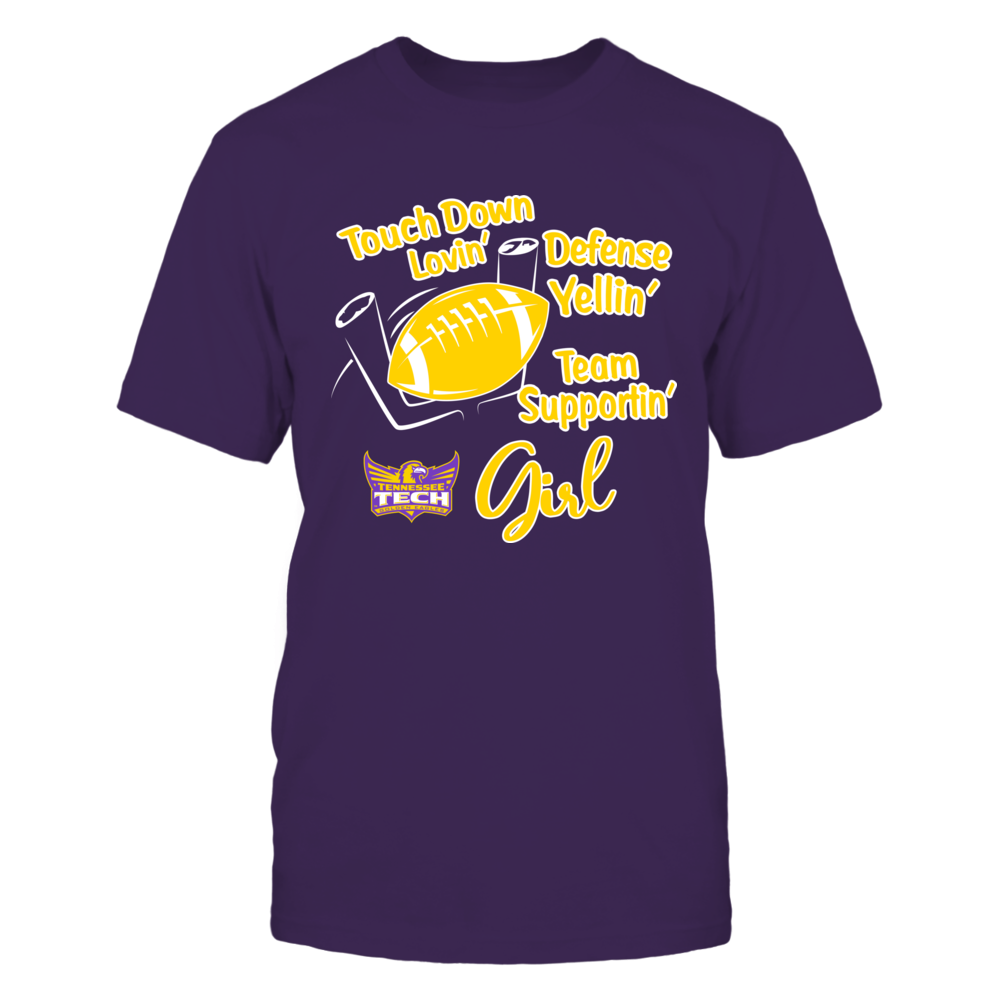 Tennessee Tech Golden Eagles - Touchdown Lovin - Team Front picture