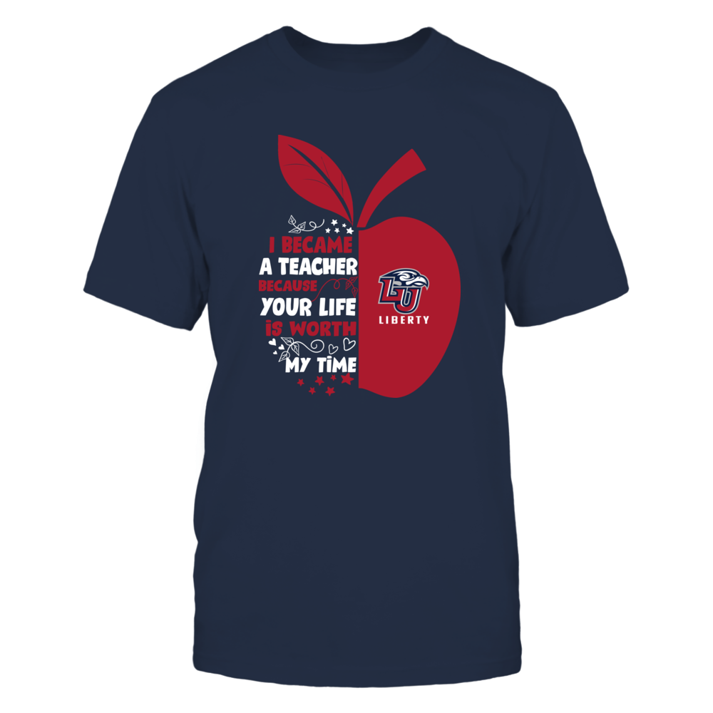 Liberty Flames - I Became - Teacher - Team  - IF-IC32-DS29 Front picture