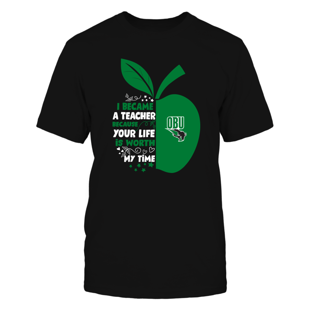 Oklahoma Baptist Bison - I Became - Teacher - Team  - IF-IC32-DS64 Front picture