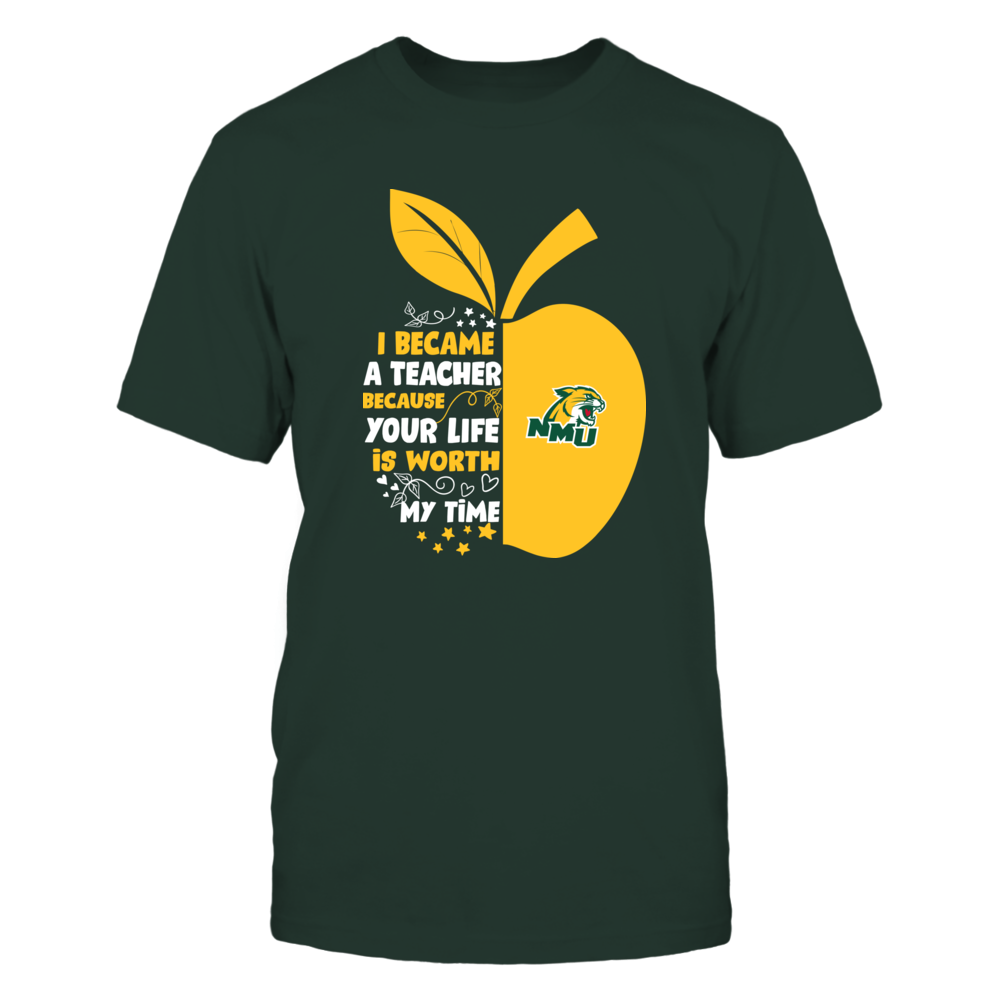 Northern Michigan Wildcats - I Became - Teacher - Team  - IF-IC32-DS63 Front picture