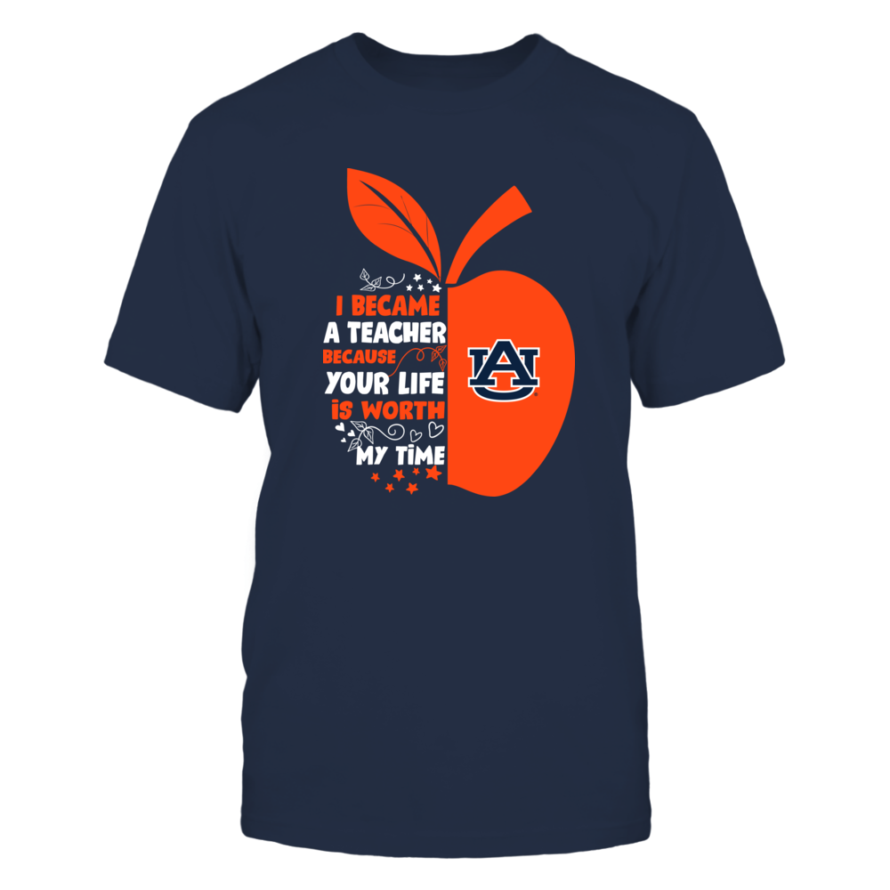 Auburn Tigers - I Became - Teacher - Team  - IF-IC32-DS37 Front picture