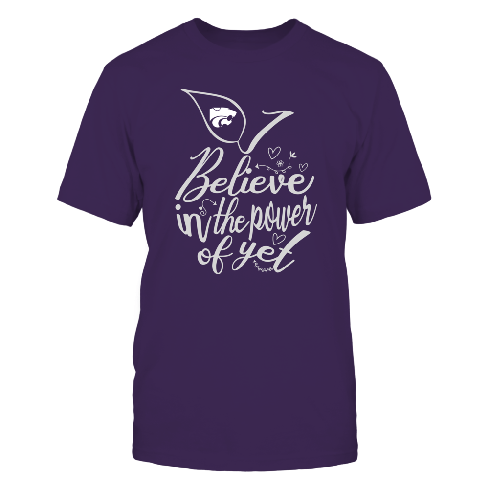Kansas State Wildcats - I Believe in the Power of Yet - Apple  - IF-IC32-DS75 Front picture