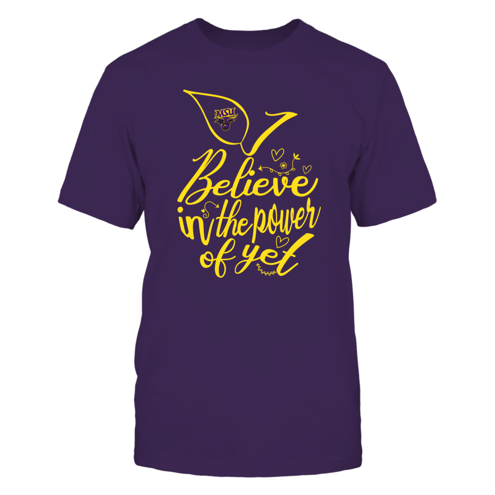 Minnesota State Mavericks - I Believe in the Power of Yet - Apple Front picture