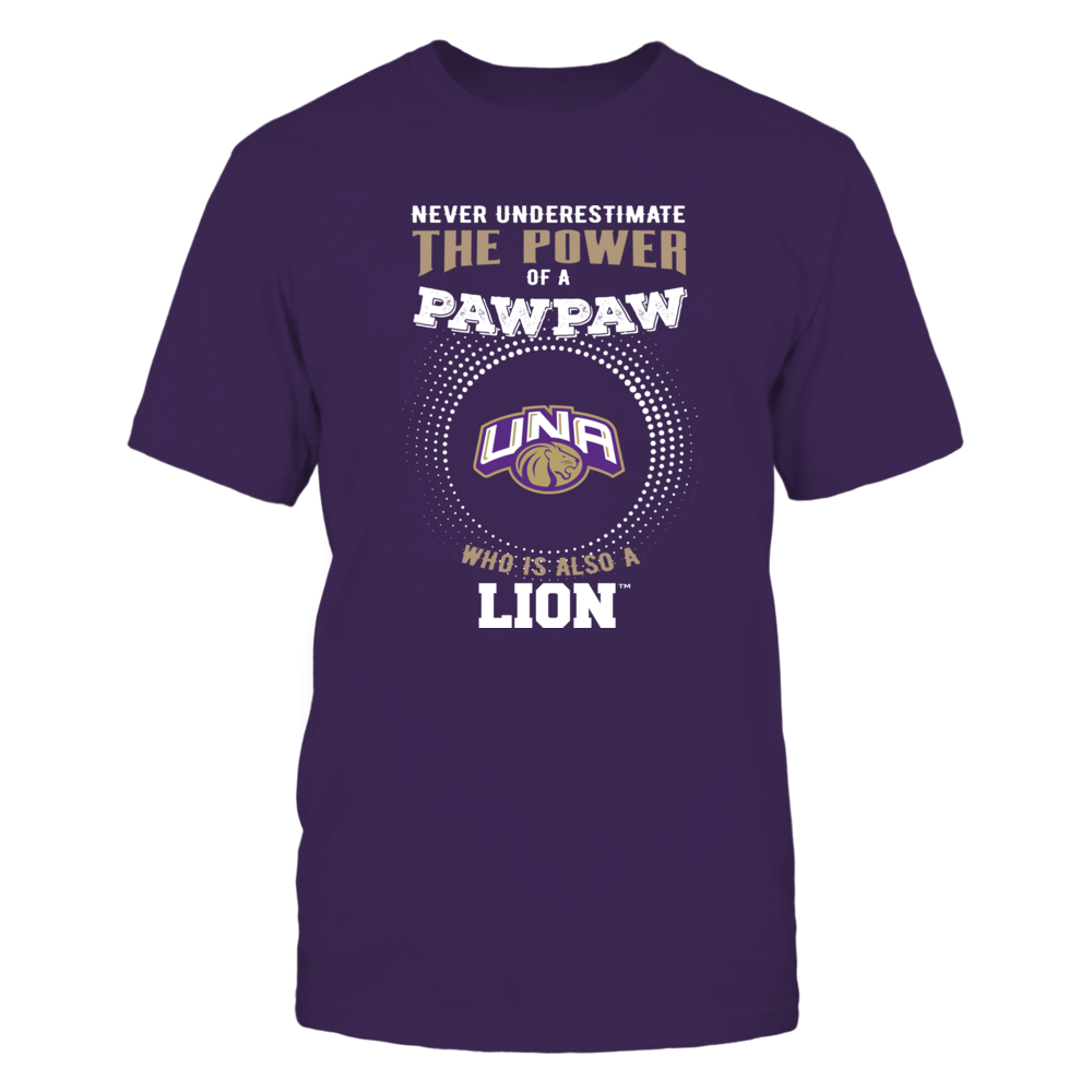 North Alabama Lions - Never Underestimate the Power of Pawpaw Front picture