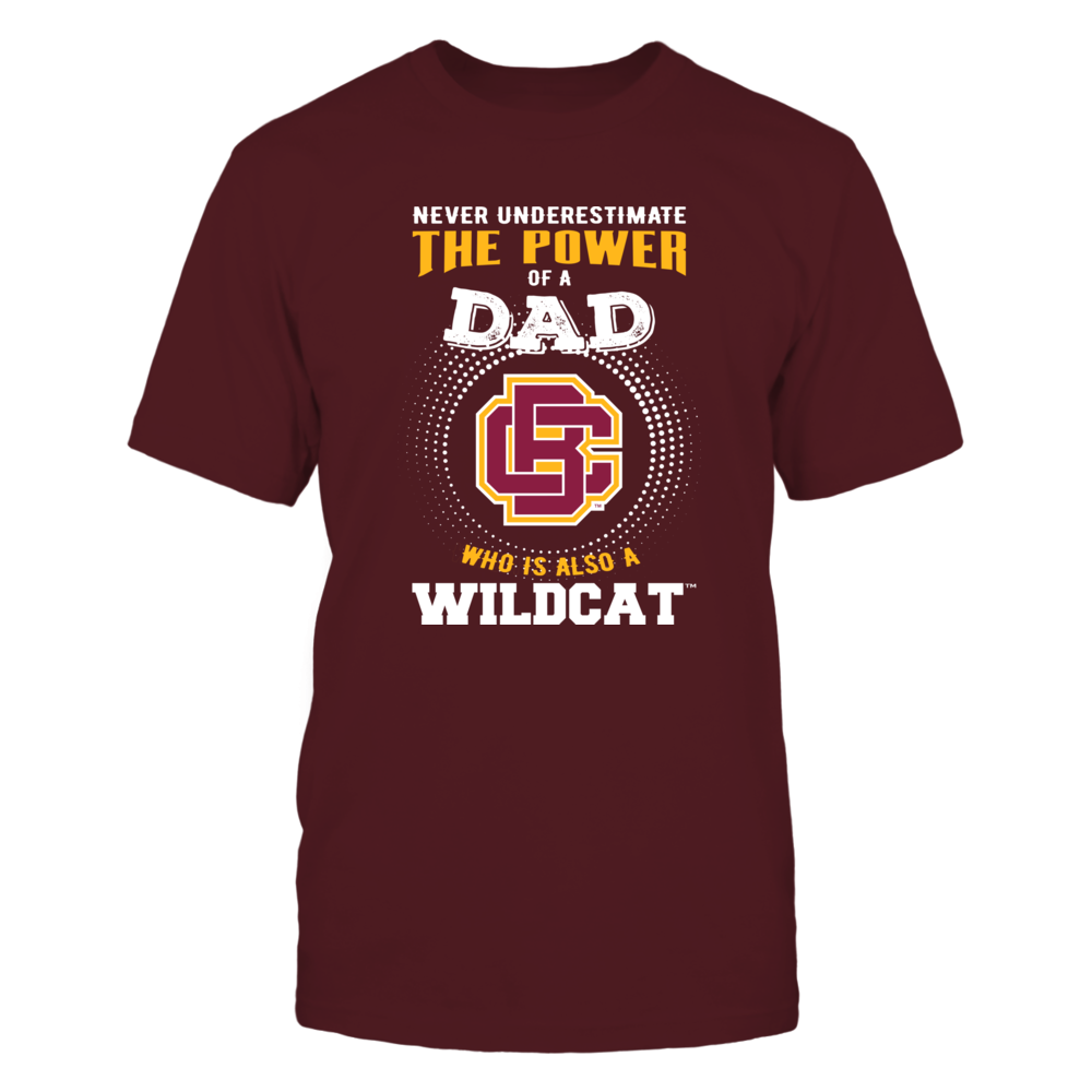 Bethune-Cookman Wildcats - Never Underestimate the Power of Dad Front picture
