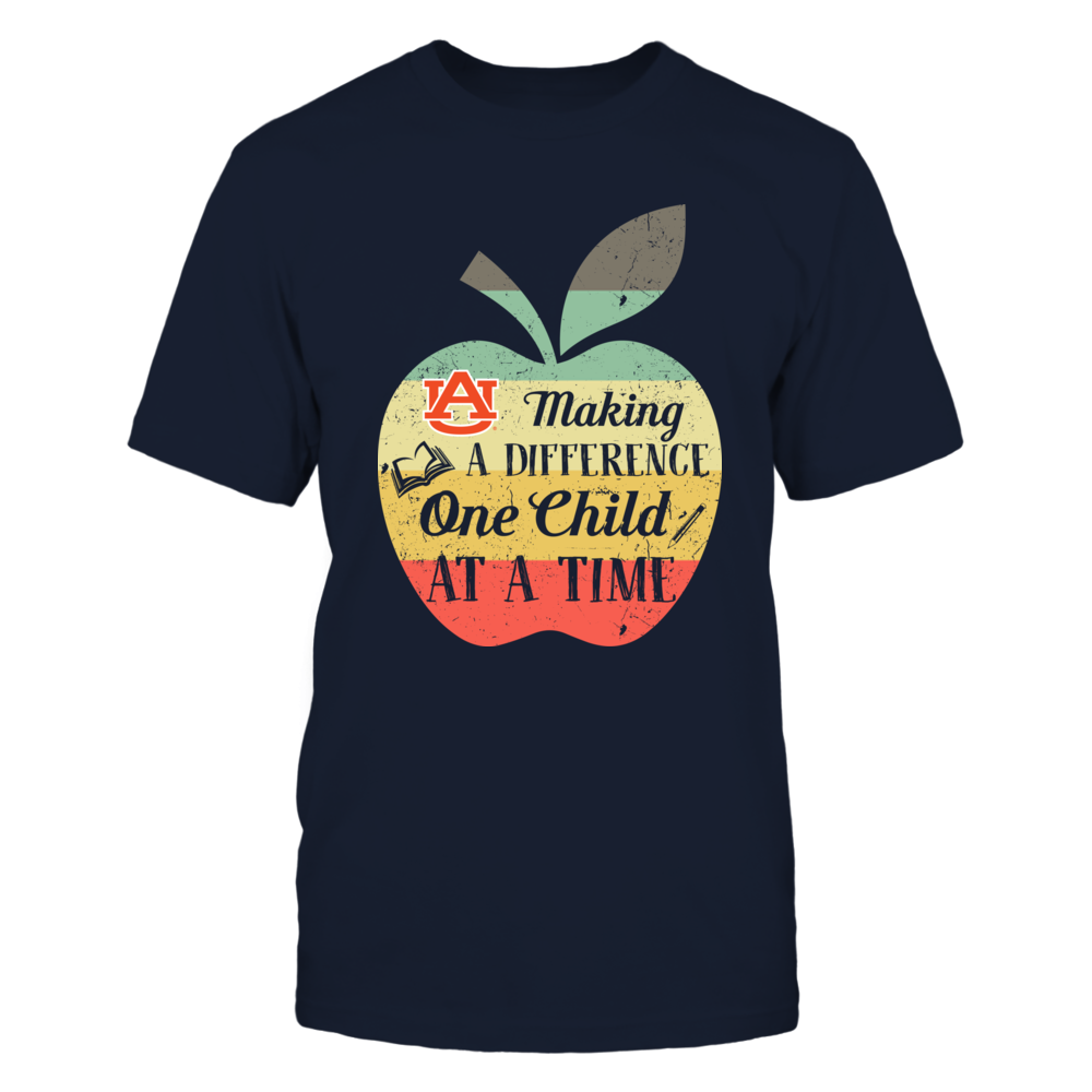 Auburn Tigers - Making A Difference One Child At A Time - IF78-IC78-DS75 Front picture